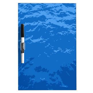 Waves Dry Erase Board