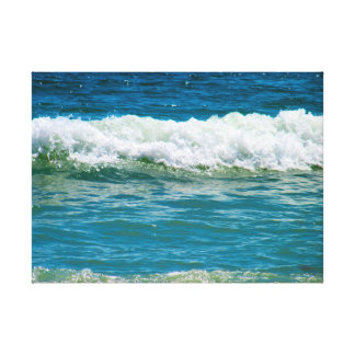Waves Gallery Wrapped Canvas