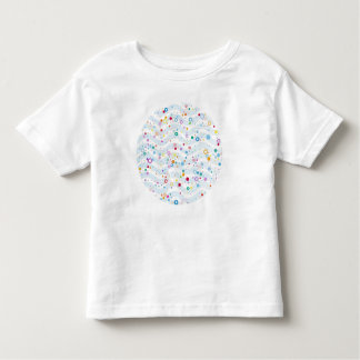 Waves -happy dots- Custom Your Color- Baby- Toddler T-shirt