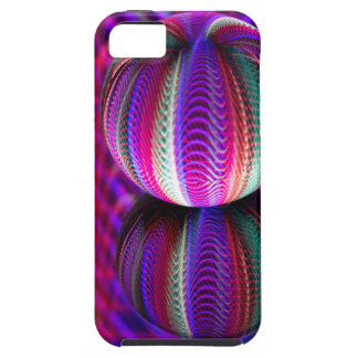 Waves in crystal ball iPhone 5 case