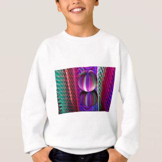 Waves in crystal ball sweatshirt
