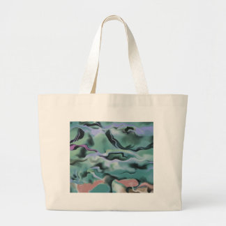 Waves In Harmony Large Tote Bag