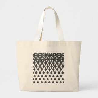 Waves into Particles Large Tote Bag