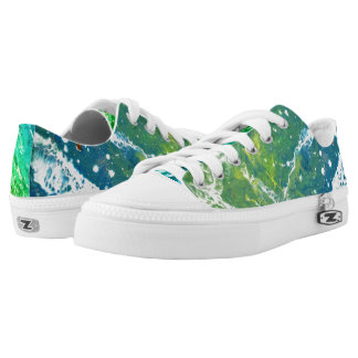 Waves Low-Top Sneakers