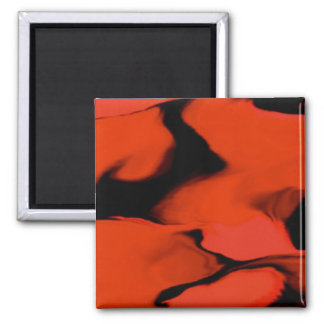Waves of Black and Red Magnet