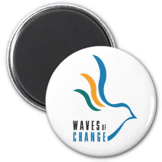 Waves of Change Magnets