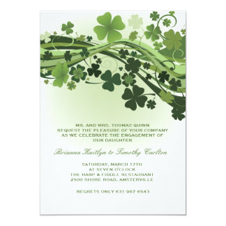 Waves of Clover Invitation