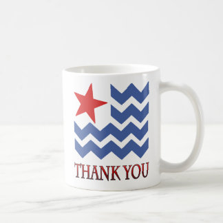 Waves Of Thanks Veterans Day Mug