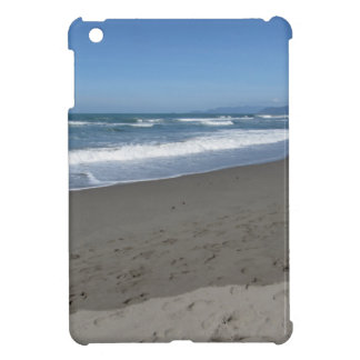 Waves of the sea on the sand beach case for the iPad mini