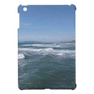 Waves of the sea on the sand beach cover for the iPad mini