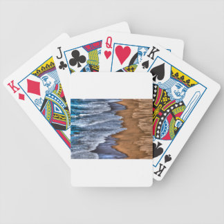 WAVES ON BEACH QUEENSLAND AUSTRALIA ART EFFECTS POKER DECK
