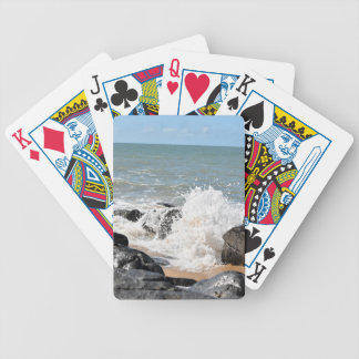 WAVES ON BEACH QUEENSLAND AUSTRALIA BICYCLE PLAYING CARDS