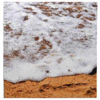 WAVES ON BEACH QUEENSLAND AUSTRALIA NAPKIN