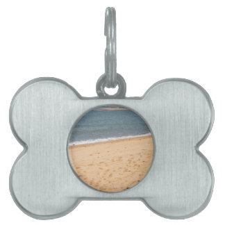 WAVES ON BEACH QUEENSLAND AUSTRALIA PET TAGS