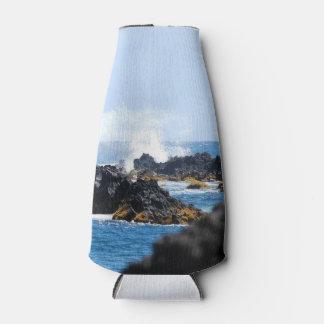 Waves on Maui Coast Bottle Cooler