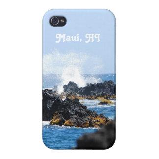 Waves on Maui Coast iPhone 4 Covers