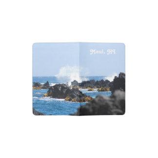 Waves on Maui Coast Pocket Moleskine Notebook