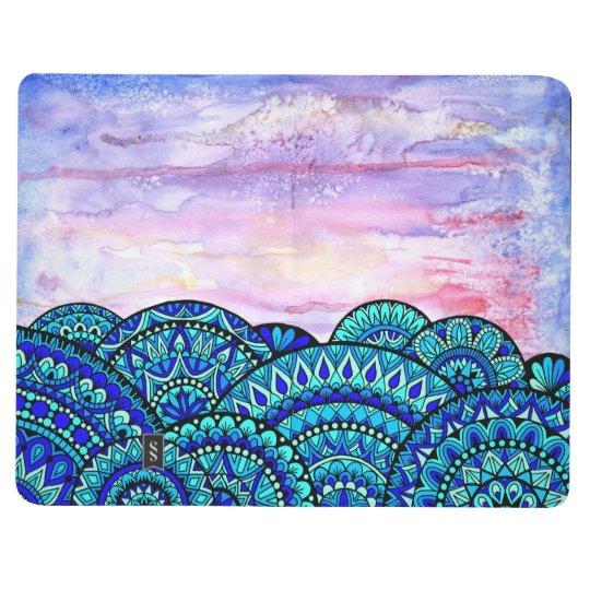 Waves on Watercolor Journals