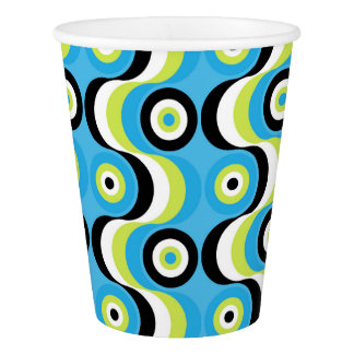 Waves Paper Cup