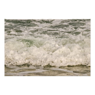 Waves Rushing to Shore Photo Print