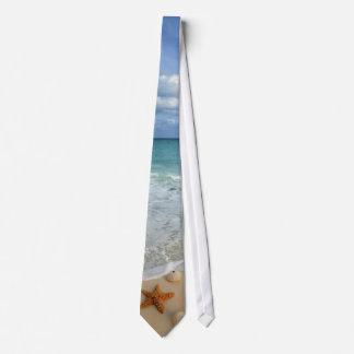 Waves & Shells Tie