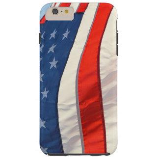 Waving American Flag Tough iPhone 6 Plus Case