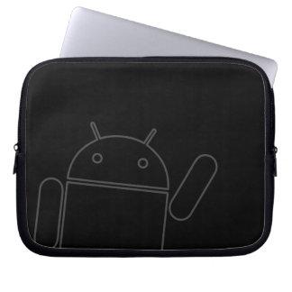 Waving Android Electronics Bag