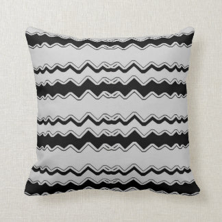 Waving Black Lite-Gray Decor-Soft Pillows