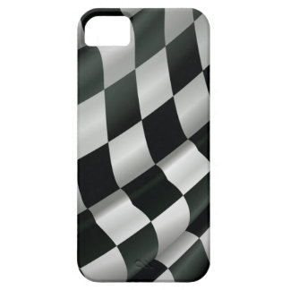Waving Checkered Flag iPhone 5 Case