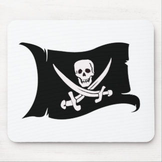 Waving Flag #10 Jack Rackham Mouse Pad