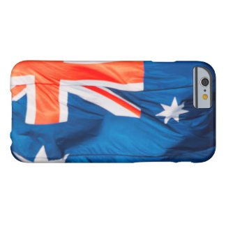 Waving Flag of Australian Barely There iPhone 6 Case