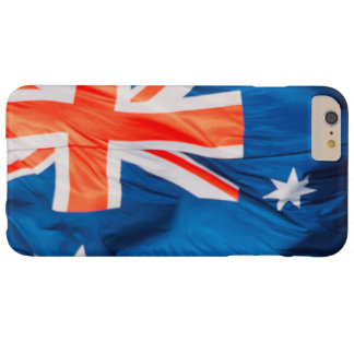 Waving Flag of Australian Barely There iPhone 6 Plus Case