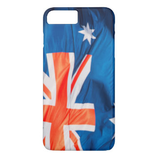 Waving Flag of Australian iPhone 7 Plus Case