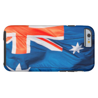 Waving Flag of Australian Tough iPhone 6 Case
