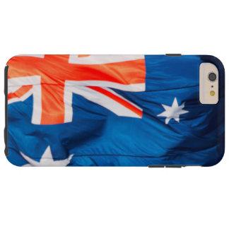 Waving Flag of Australian Tough iPhone 6 Plus Case