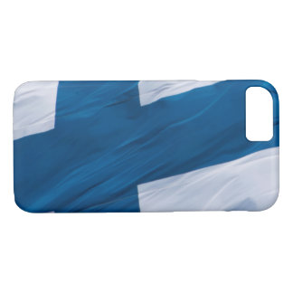 Waving Flag of Finland iPhone 7 Case