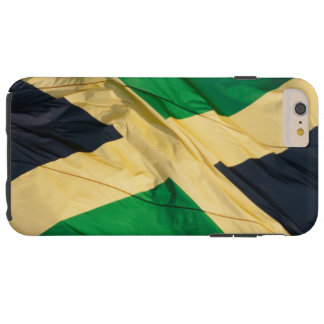 Waving Flag of Jamaica Tough iPhone 6 Plus Case