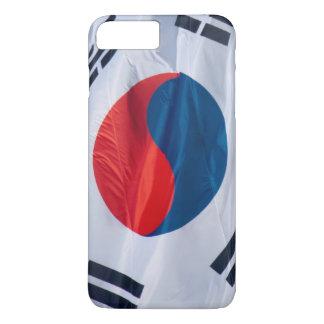 Waving Flag of South Korea iPhone 7 Plus Case
