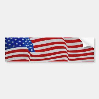 waving flag sticker