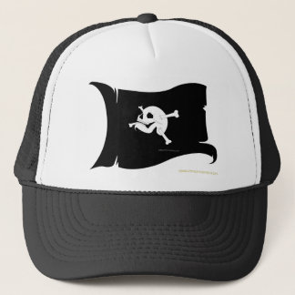 Waving Flag Trucker Hat