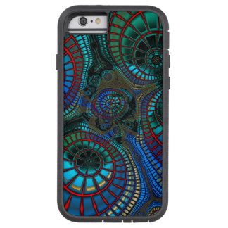 Waving Fractal Abstract Tough Xtreme iPhone 6 Case