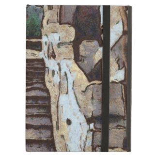 Waving from the steps iPad air covers