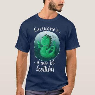Waving Nessie Everyone's Scottish! T-Shirt