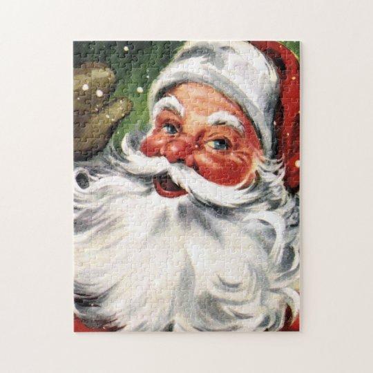 Waving Santa Claus Jigsaw Puzzle