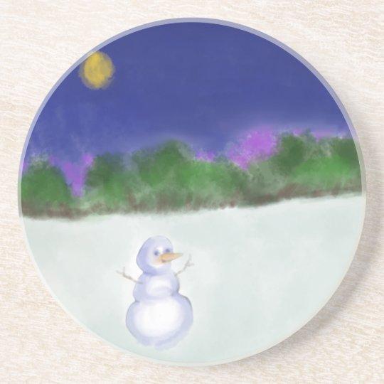 Waving Snowman Coaster