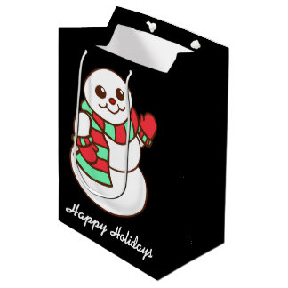 Waving Snowman Gift Bag