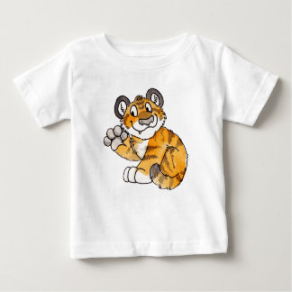 Waving Tiger Cub Infant T-Shirt