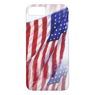 Waving US Flag iPhone 7 Case