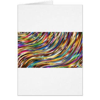 Wavy Abstract Card