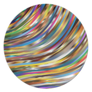 Wavy Abstract Plate